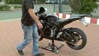 Motorbike Stand Zentral Paddock Stand Motorradständer GSXR CBR YZF R1 R6