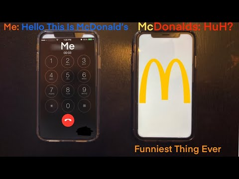 Mcdonalds Employee Prank Calls McDonalds Employee