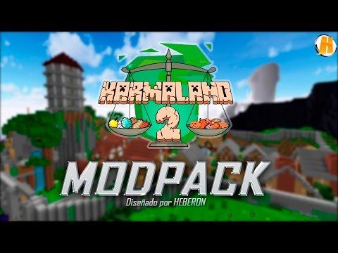 Modpack KARMALAND 2 | Minecraft Server 1.7.10 | HeberonYT