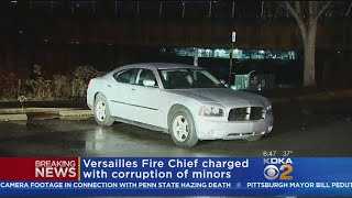 Police: Versailles Fire Chief Caught Having Sex With Minor