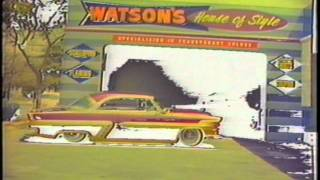 Custom Cars Painted by Larry Watson in the 1950s