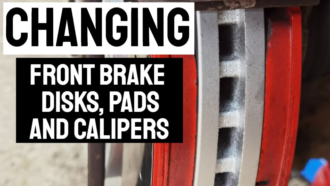 Changing Front Brake Disks, Pads & Calipers - Jeep Commander and Others