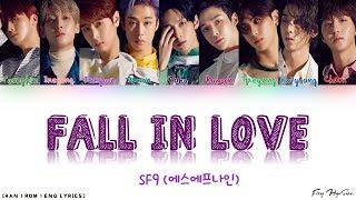 SF9 Fall In Love 가사