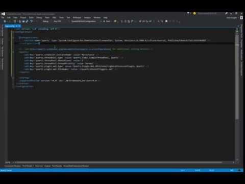 Quartz.NET - XML Configuration