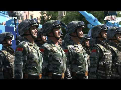 China's V-Day military parade & la chine est v - day parade militaire à Beijing 2015