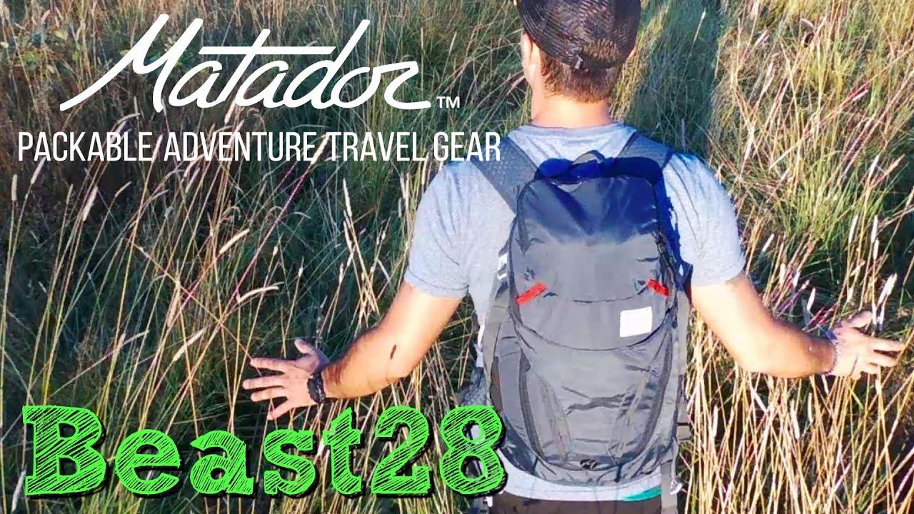 407abc173b Matador Beast28 Packable Technical Backpack - YouTube
