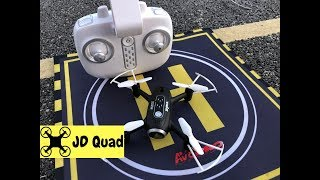 syma X22W Nano Quadcopter Drone Flight Test Video