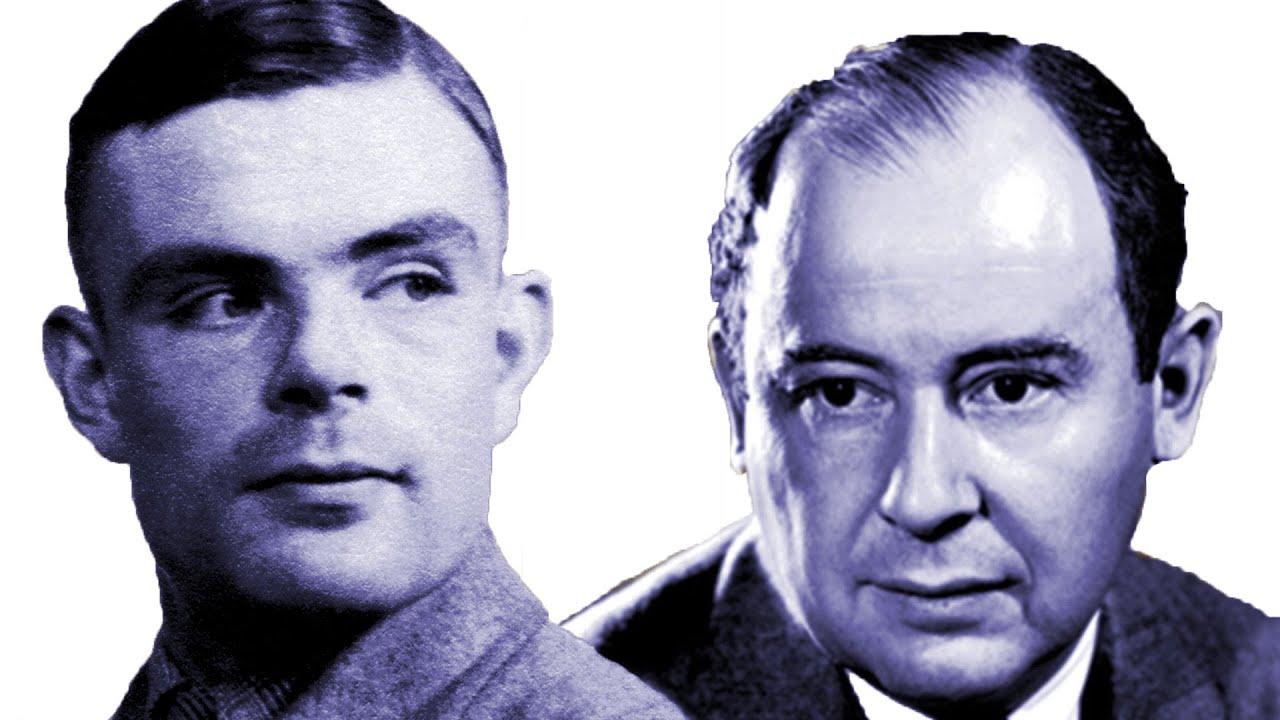 Turing and von Neumann - Professor Raymond Flood - YouTube