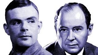 Turing and von Neumann - Professor Raymond Flood thumbnail