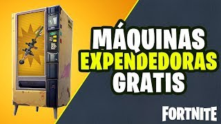 FREE VENDING MACHINES in FORTNITE
