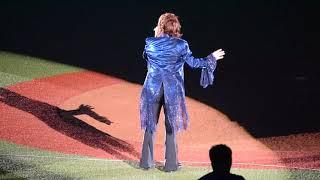 2018.8.4 歌手の渡辺美里さんが13年ぶりに西武球場で熱唱致しました!