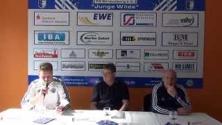 30.03.2014 Pressekonferenz FC Strausberg - Malchower SV