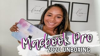 MACBOOK PRO 2020 UNBOXING // 13 INCH MACBOOK PRO 2020 UNBOXING //