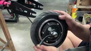 Changing ZERO 9 Rear Tire Part 1