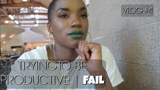 TRYING TO BE PRODUCTIVE | FAIL | VLOG #4 | BEAUTY BY KANDI
