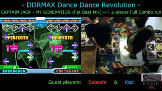 DDR live request #003: MY GENERATION (Fat Beat Mix) [2-player Full Combo run]