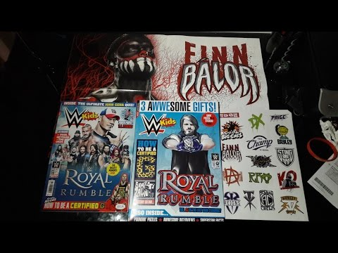 WWE KIDS MAGAZINE #118 **GIANT POSTER,AWESOME STICKERS & 3D