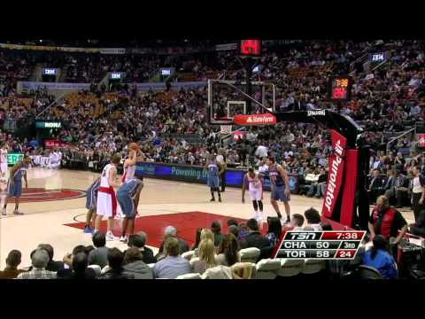Andrea Bargnani vs Charlotte Bobcats / Apr. 3rd, 2012
