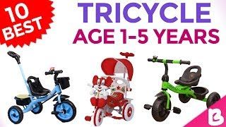 10 Best Tricycle for Kids/Baby for 1 to 5 Years in India with Price | Rs. 1000 Onwards
