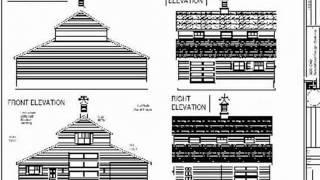 PDF Barn Plans - 52 X 38 - Barn Plan