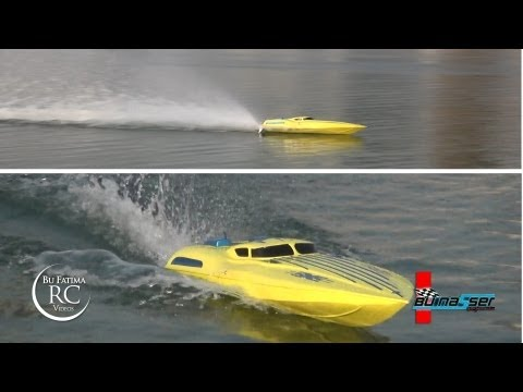 SALEM having fun with his 26cc Gasoline RC Aero marine Boat