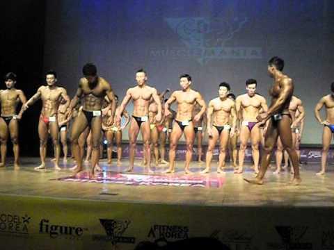 Musclemania Fitness Model 2012 Seoul South Korea Mens -75kg Top 10