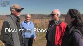 Making Plans – English Conversation – Ben Franklin Exercise