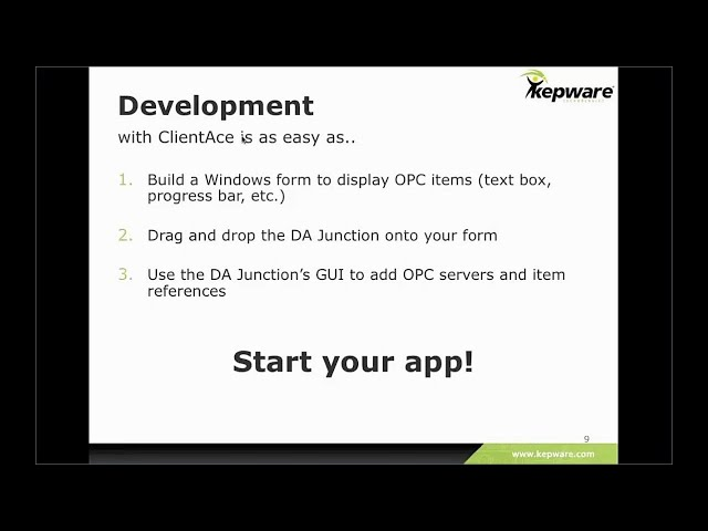 Developing with ClientAce Version 4 0 - YouTube