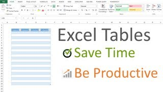 Excel Tables Tutorial: Beginners Guide for Windows & Mac