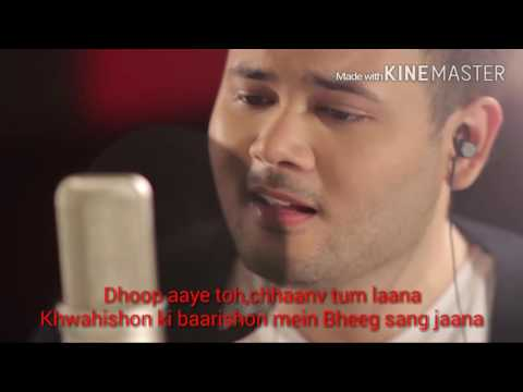 Lirik muskurane - Arijit singh cover by...