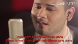Lirik muskurane - Arijit singh cover by Ridho rhoma