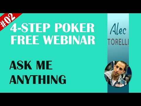 Four Step Poker Free Webinar - Ask Me Anything #002 - 동영상