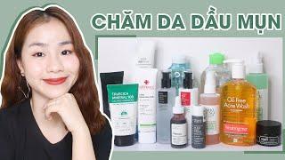 Sản Phẩm Tốt Nhất Cho Da Dầu Mụn 2019 ♡ Best Products For Oily & Acne Prone Skin ♡ Quin