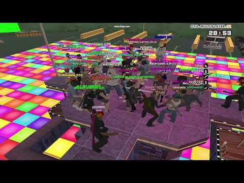 Dance in GTA-MP-CZ