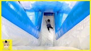 Indoor Home Playground Fun for Kids and Family Play Slide Playtime Playing Ball | MariAndKids Toys