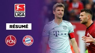 Résumé : Fin de match hallucinante entre le Bayern Munich et Nuremberg