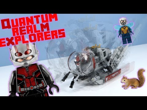 LEGO Marvel Ant-Man and The Wasp Quantum Realm Explorers Speed Build Review