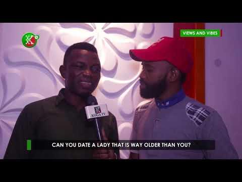 NIGERIAN MEN REACT TO DATING WOMEN OLDER THAN THEM