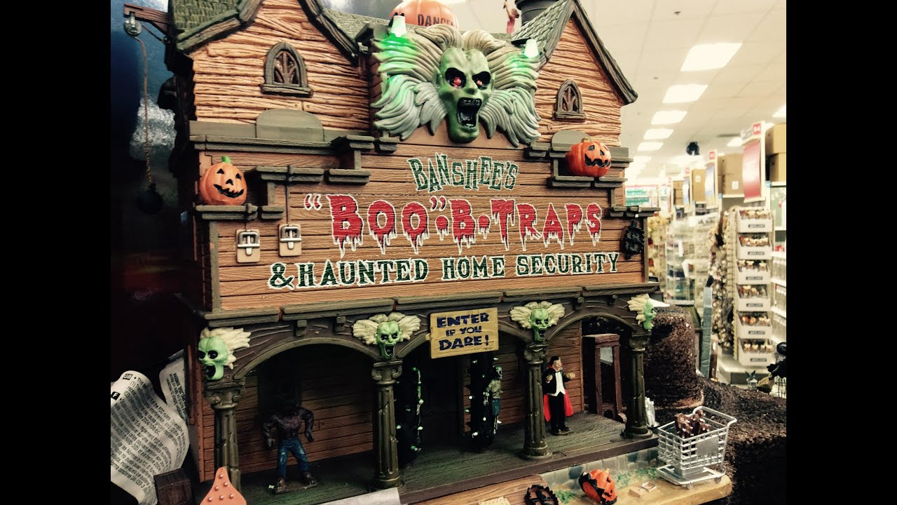 michaels halloween 2015: lemax spooky town - youtube