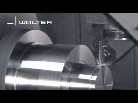 Walter Tools Turning Tigertec Silver  ISO-P Generation total machining Drehen Gesamtbearbeitung