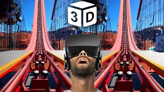 🔴 VR Video 3D Roller Coaster VR 3D for Google Cardboard VR Box 3D Virtual Reality