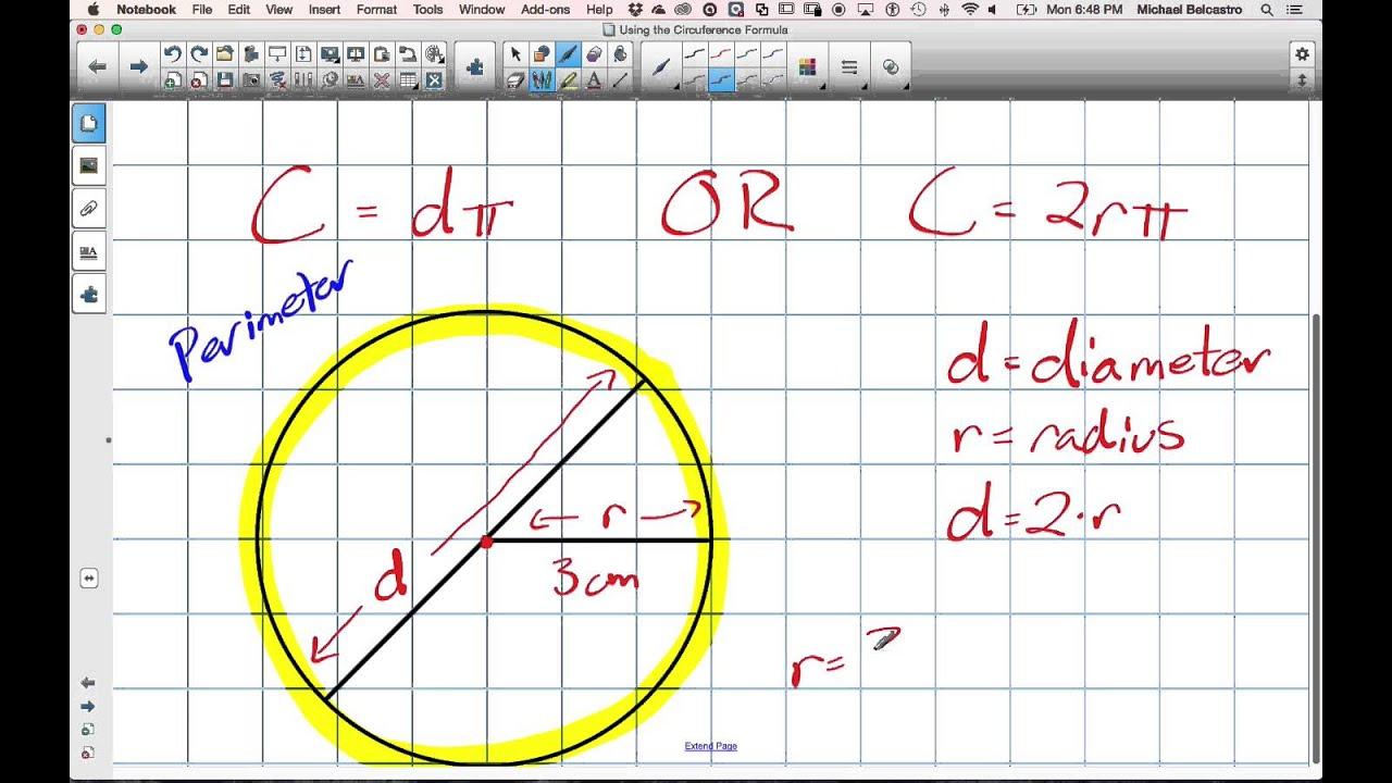 Workbooks nelson math 8 workbook : Using the Circumference Formula Grade 8 Nelson Lesson 5 3 5 25 15 ...