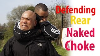 How to defend a rear naked choke | wing chun self defence How to es...