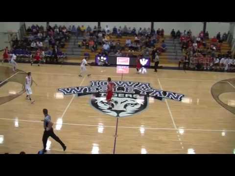 Colby Taylor vs Iowa Wesleyan