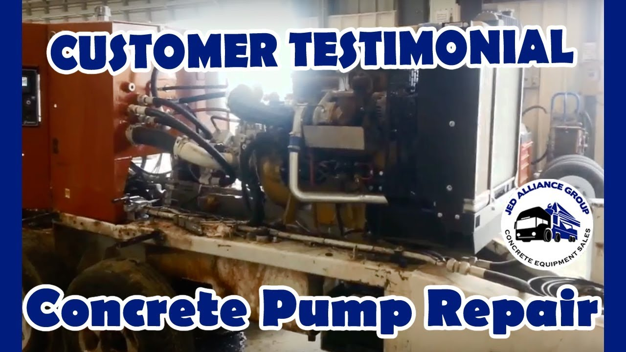 Concrete Pump Repair | From a Total Loss to a Brand NEW Schwing