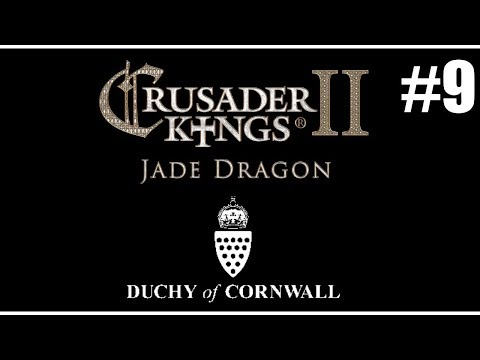 Let's Play Crusader Kings 2: Duchy of Cornwall - #9 Why is my kingdom salmon pink?