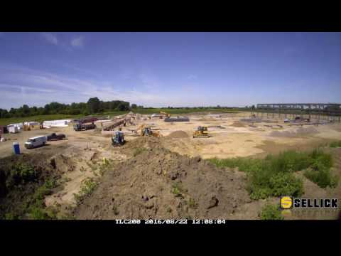 Sellick Equipment Ltd - New Plant Construction Timelapse