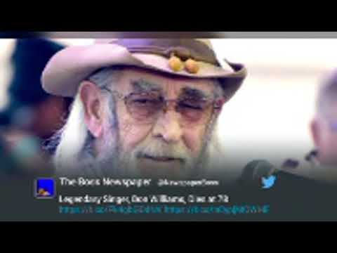 Country star Don Williams, 'the Gentle Giant,' dead at 78 -- RIP Don Williams