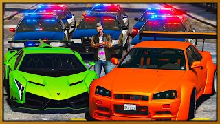 GTA 5 Roleplay - ANGRY COPS HARASSING STREET RACERS | RedlineRP