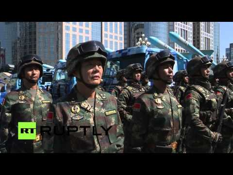 LIVE: Beijing holds WWII 70th anniversary military parade